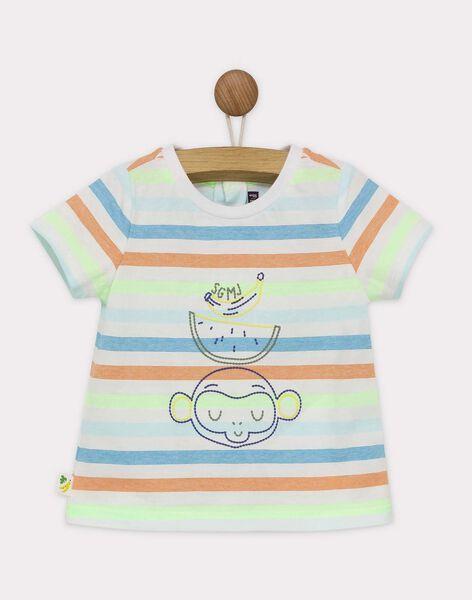 Lemon yellow T-shirt RAWAREN / 19E1BGQ1TMC108