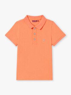 Orange POLO SHIRT ZYPOLAGE6 / 21E3PGW1POLE411