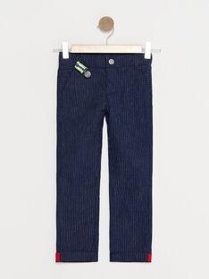 Navy pants TYCROLAGE / 20E3PG11PAN705