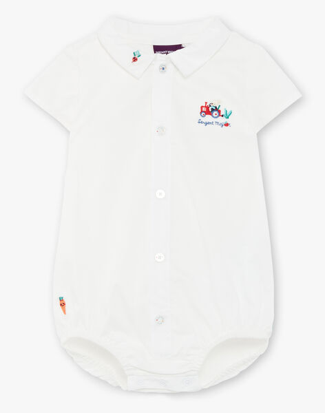 Body white shirt ZAKARMA / 21E1BGJ1BOD000
