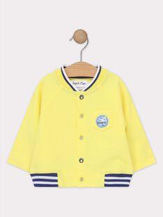 Golden yellow Waistcoat TANOAH / 20E1BGO1GIL106