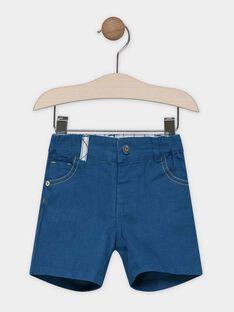 Baby boys' navy Bermuda shorts SABOSTON / 19H1BG21BER714