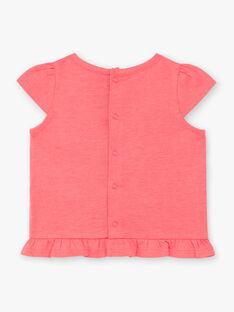 Pink T-SHIRT ZASTACY / 21E1BFU1TMCD311