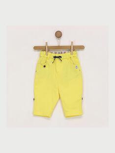 Yellow pants RAEDMONT / 19E1BGC1PAN412