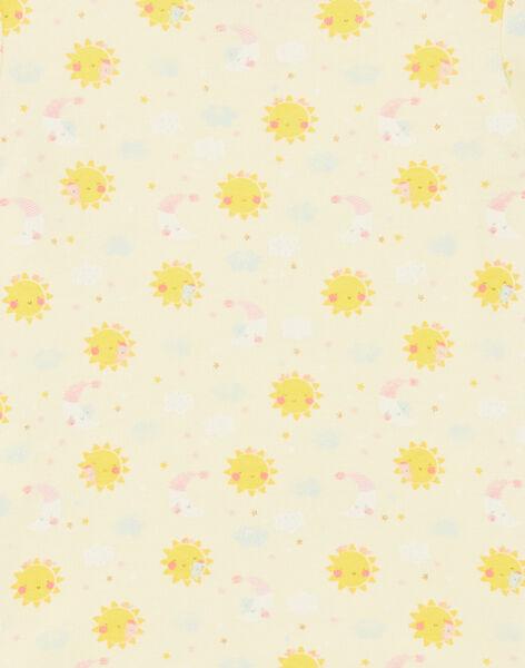 Yellow BODY SUIT ZEJENNA / 21E5BF31BDLB104