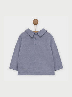 Violet blue Polo shirt RAANDREA / 19E1BG21POL221