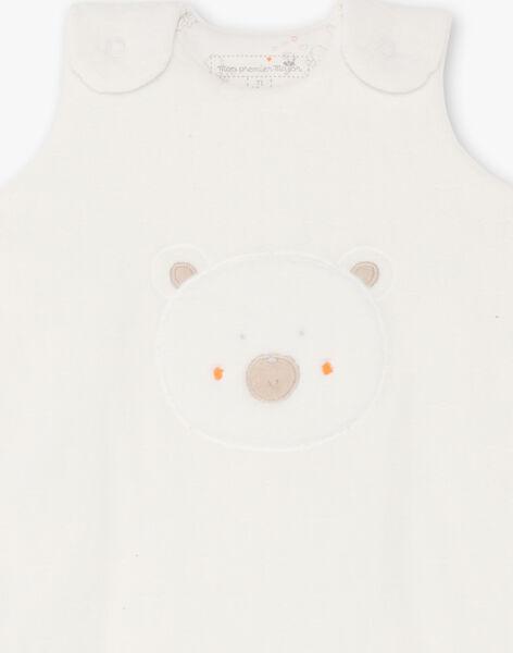 Mixed white baby sleeping bag BONOEL / 21H0AM41TUR001