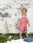 Baby boy striped twill overalls BABERLIN / 21H1BG11SAL050