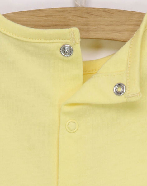 Yellow T-shirt RYABDEL / 19E0CG11TML010