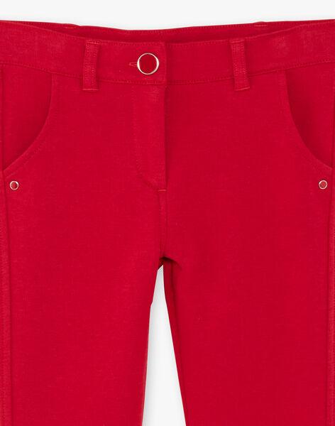 Children's pants girl ZLUPETTE3 / 21E2PFK3PAN719