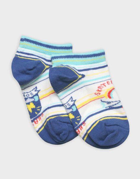 Off white Low socks RECHAUSAGE / 19E4PGC1SOB001