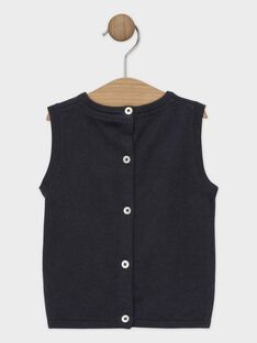Dark grey Pullover (sleeveless) SAWICUS / 19H1BGP1PSM941