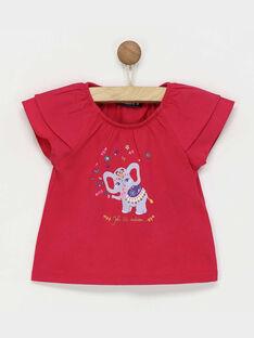Fushia T-shirt RAREBECA / 19E1BFM1TMC304