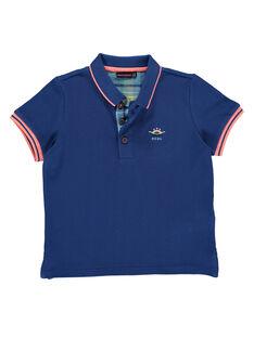 Navy Polo shirt RUABAGE / 19E3PGP1POLC212