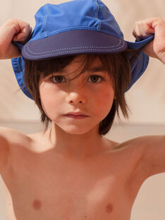 Children's blue hat for boys ZYBOBAGE / 21E4PGR1CHAC221