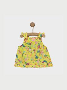 Lemon yellow Blouse RAVIVIA / 19E1BFQ1CHE108
