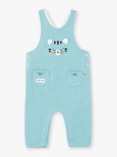 Light blue fleece overalls ZAISAAC / 21E1BGI1SAL629