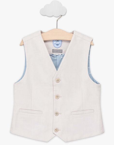 Light beige Sleeveless Jacket TIGILAGE / 20E3PGJ1GSM808