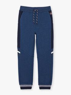 Baby boy navy blue jogging pants BANUAGE1 / 21H3PG34JGBC212