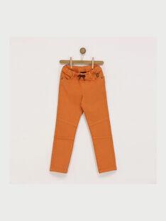 Orange pants RABADAGE / 19E3PG41PAN402