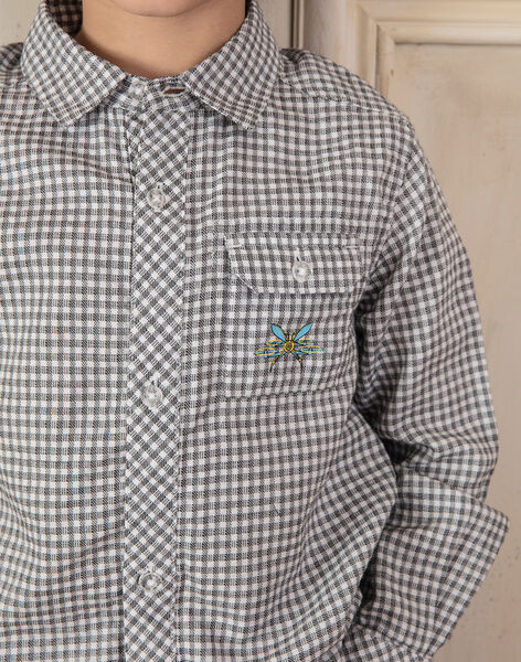 Children's boy's shirt ZAZAGE / 21E3PG91CHM001
