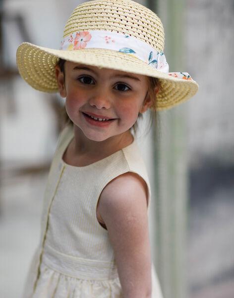 Beige hat child girl ZICHUETTE / 21E4PFO1CHAB104