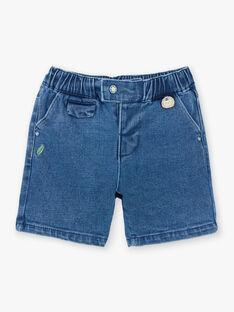 Baby Boy's Blue Denim Shorts TYHANDI / 20E1BGZ3BERP274