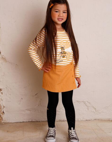 Camel skort child girl ZESHOETTE / 21E2PF91SHO804