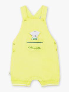 Baby boy's light green short overalls TAWAYATT / 20E1BGX1SACG628
