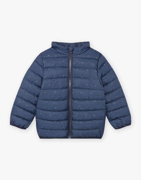 Boy's Grey 2 in 1 Hooded Raincoat BARIMPAGE / 21H3PGC2IMPJ912