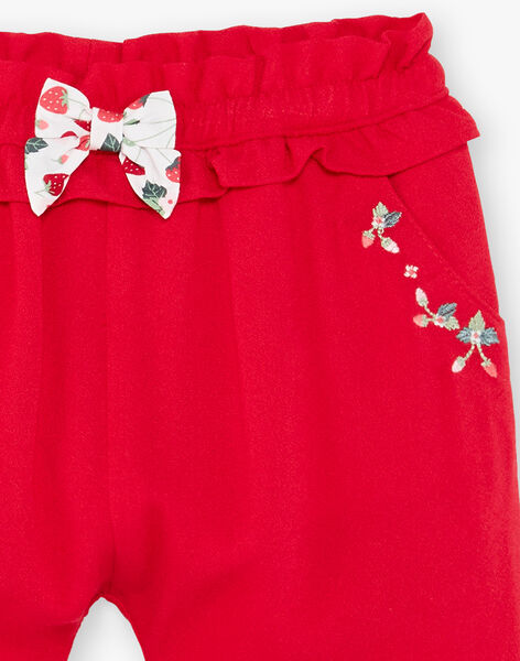 Red pants ZAAMBRE / 21E1BFJ1PANF505