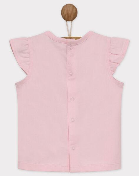 Clear pink T-shirt RATALIA / 19E1BFP1TMC321