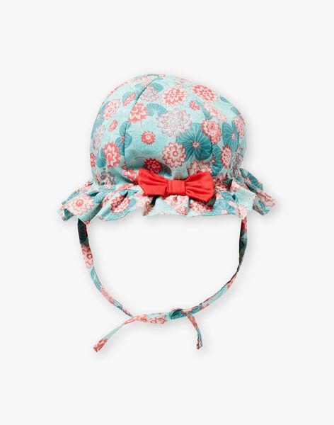 Lotus flower printed hat ZACHOU / 21E4BFI1CHA629