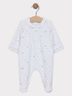 Romper with Peter Pan collar SYAMELY / 19H0NF12GRE000