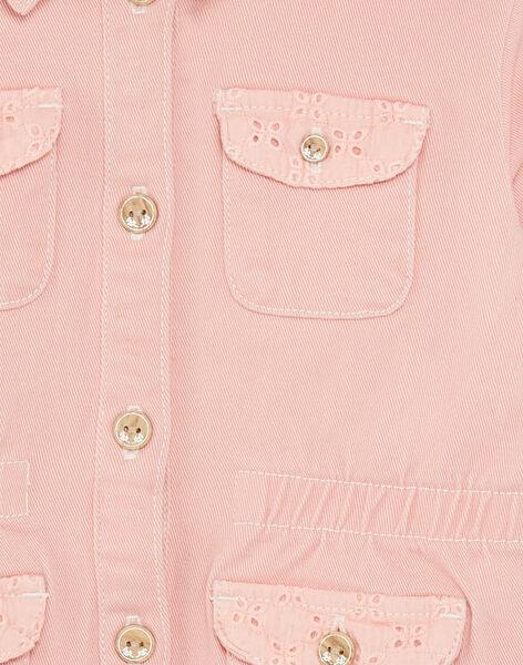 Pink jacket tightened at the waist ZOUSARETTE / 21E2PFM1VESD327