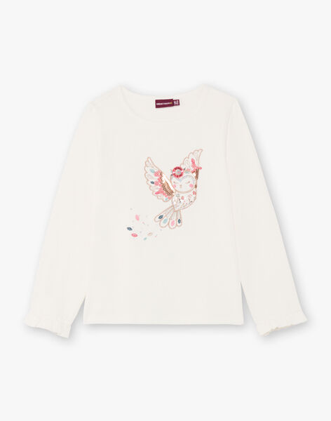 White and pink t-shirt girl BOSANDETTE / 21H2PF91TML001