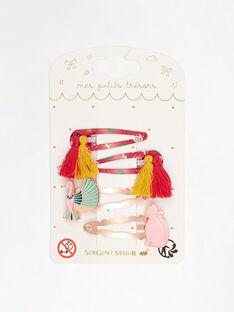 Red Hair clip TIUROKETTE / 20E4PFL3BRTF510