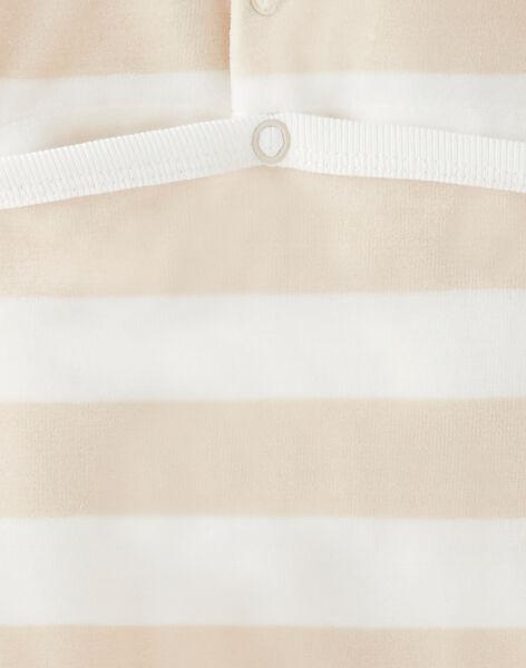 Heather beige ROMPER VELOUIS / 20H5BG25GREA011