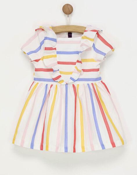 Off white Dress RAFLEUR / 19E1BFC1ROB001