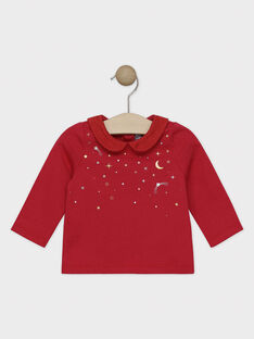 Red Baby blouse SAZOFIA / 19H1BFP1BRAF510