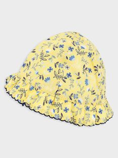 Pale yellow Hat TAOLGA / 20E4BFO1CHA103