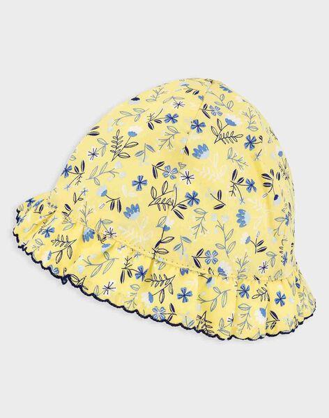 Pale yellow Hat TAOLGA / 20E4BFO1CHA103