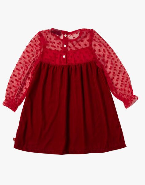 Red DRESS VRAPOETTE / 20H2PFZ2ROB050