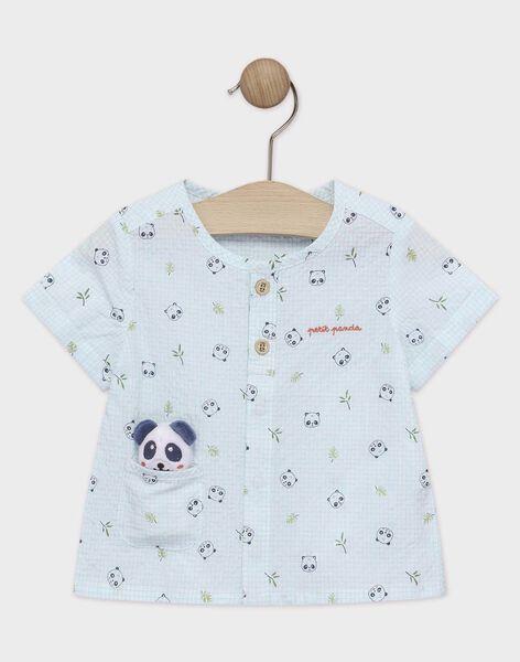 Blue Shirt TAPAO / 20E1BGP1CHMC200