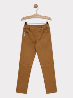 Light brown pants SACHEVRAGE / 19H3PG62PAN804