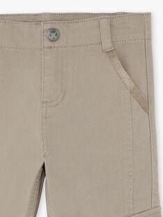 Baby boy taupe pants BANAGE / 21H3PG22PAN631