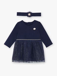 Navy DRESS VAROSALIE / 20H1BFY1ROB070