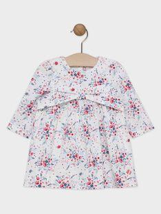 Off white Dress SANAIA / 19H1BFE3ROB001