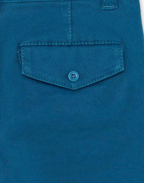Blue pants with belt ZADRAKAGE / 21E3PGJ2PAN202