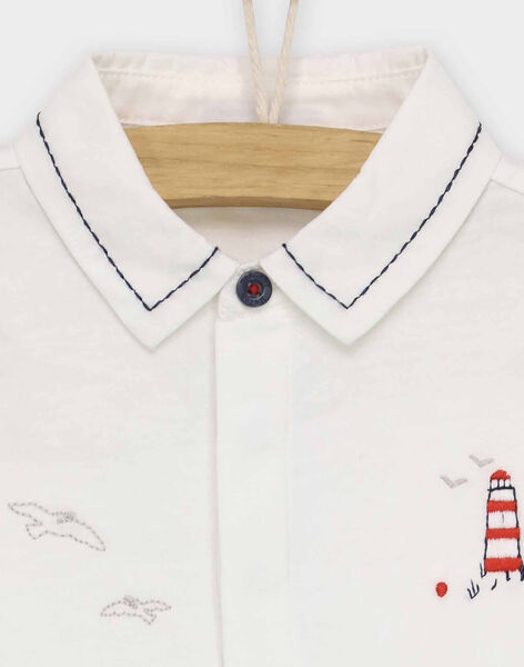 Off white Polo shirt RANICOLAS / 19E1BGE1POL001